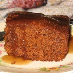 Gingerbread Cake With Brown Sugar Sauce recipe