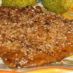 Oven Fried Sesame Chicken recipe