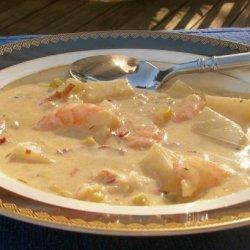 Chipotle Shrimp and Corn Chowder recipe