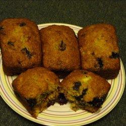 Blueberry Banana Loaf recipe