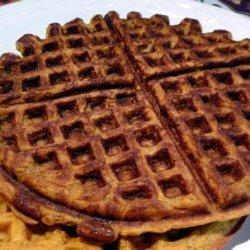 Wonderful Pumpkin Waffles recipe