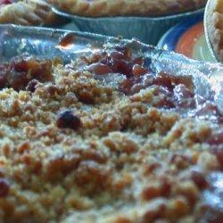 Apple Rhubarb Crumble recipe
