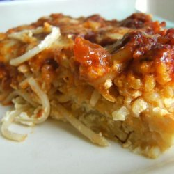 Baked Spaghetti Pie recipe
