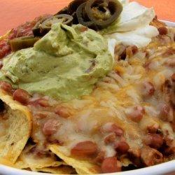 Easy Chili Nachos recipe