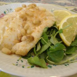 Cod Fish With Pine Nut Brown Butter recipe