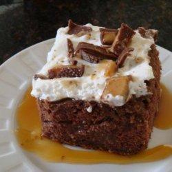 Heath Bar Cake recipe
