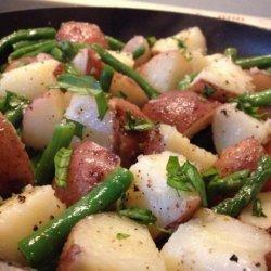 Red Potato and Green Bean Saute recipe