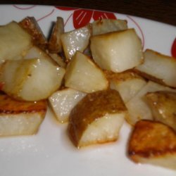 Delicious Oven-Roasted Potatoes recipe