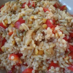 Red Bell Pepper Couscous recipe