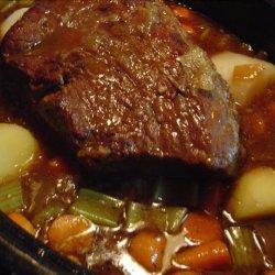 Onion Pot Roast recipe
