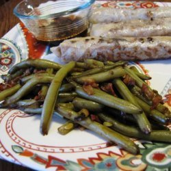 Asian Green Beans in a Snap recipe