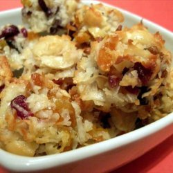 Dried Fruit and Coconut Macaroons recipe
