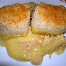 One Dish Chicken  & Biscuit  Bake recipe