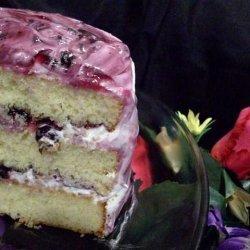Blueberry Stack Cake recipe