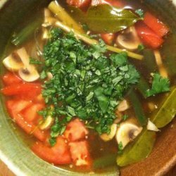 Thai Lemongrass and Chile Soup (Tom Yum) recipe
