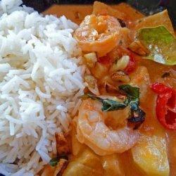 Thai Prawn And Pineapple Curry,  Kaeng Khua Saparot  recipe