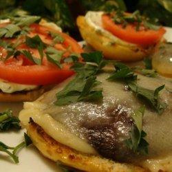 Grilled Portabella Mushroom Burgers - a La Dave recipe
