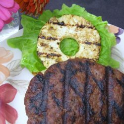 Polynesian Burgers With Pineapple recipe