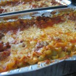 Tried & True Lasagna recipe
