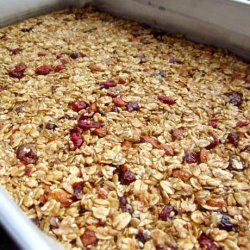 Homemade Granola Bars (Health or Energy Bars) recipe