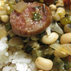 Creole Black-Eyes and Rice for the Crock Pot recipe