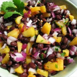 Black Beans and Peaches recipe