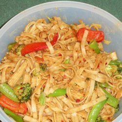 Thai Satay Noodles recipe