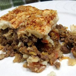 Cottage Pie With a Bit of Zing recipe