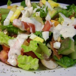 green salad with blue cheese dressing (ina garten) recipe