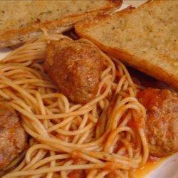 Meatballs for Spaghetti or Sandwiches recipe