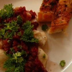 Sweet Potato and Feta Gnocchi recipe