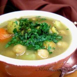Moroccan Chickpea Soup recipe