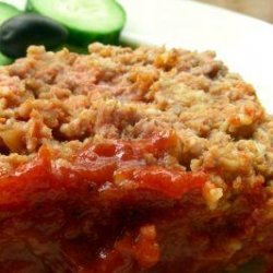 The Meatloaf With the Sauce! recipe