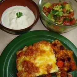 Mexican Taco Casserole recipe