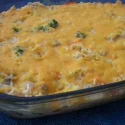 Creamy Chicken and Rice Bake recipe