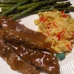 Teriyaki Beef Brisket for the Crock Pot recipe