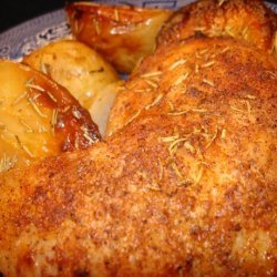 Italian Oven-Roasted Chicken and Potatoes recipe