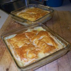 Chicken Pot Pie W/ Puff Pastry recipe