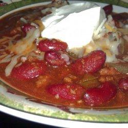 Cu's Chili recipe