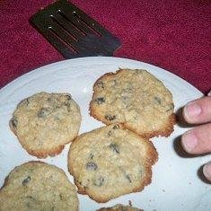 Raisin Oat Cookies recipe