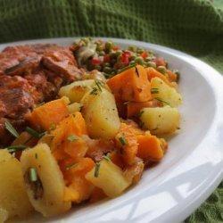 Two Potato Rosemary Saute recipe