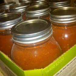 Canned Fresh Tomato Spaghetti Sauce recipe