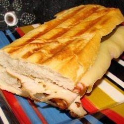 Turkey, Ham & Swiss Grilled Cheese recipe