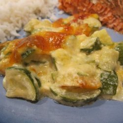 Cheesy Zucchini Casserole recipe