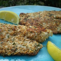 Kittencal's Low Fat Baked Parmesan Fish Fillets recipe