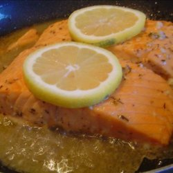 Salmon Fillets Canadiana recipe