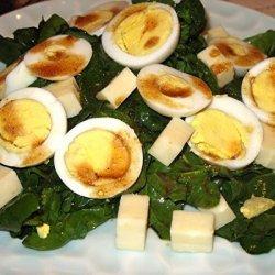 Spinach Salad Supreme recipe