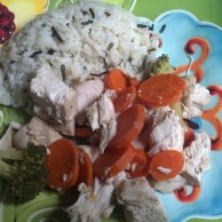 Crock Pot Orange Honey Chicken recipe