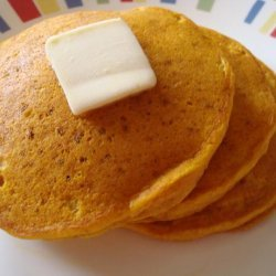 Pumpkin Ginger Pancakes With Ginger Butter recipe