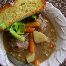 Slow Cooker (Crock Pot) Oxtail Barley Soup recipe